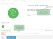 percent of credit value option