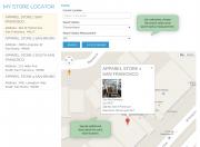 enable customers to choose search radius measurement