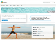 motivate customers to create accounts  right on the thank you page