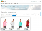 increase sales by offering coupons and displaying cross-sells block