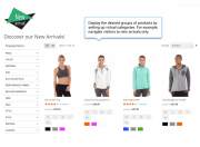 promote the desired products by creating conditions-based virtual categories
