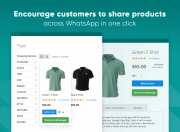 let customers easily share your products