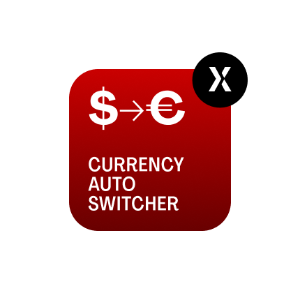 Currency Auto Switcher by MageWorx for Magento 2