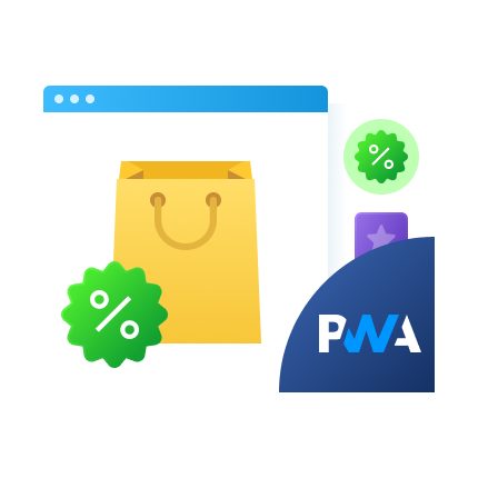 PWA for Product Labels (Add-On) for Magento 2