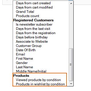 advanced customer segments magento module
