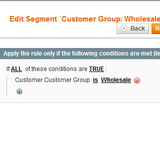 advanced customer segments magento extension
