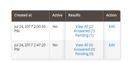 magento 2 submit data status