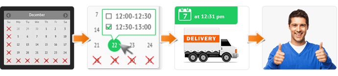 magento delivery date