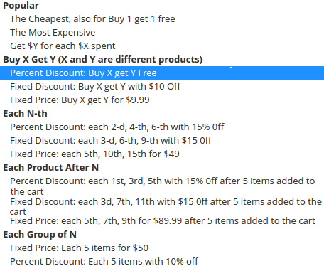 magento discount rules
