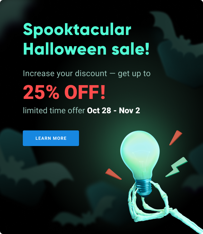 Halloween Sale special offers