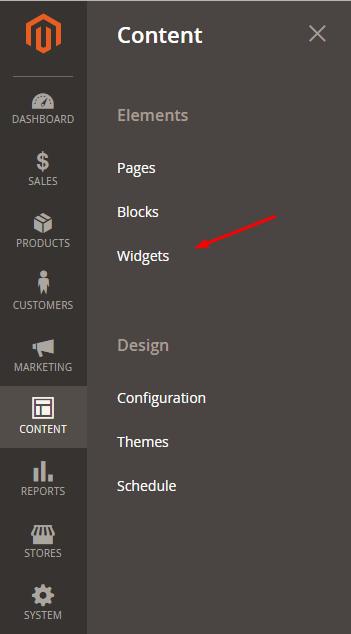 content-widgets-magento