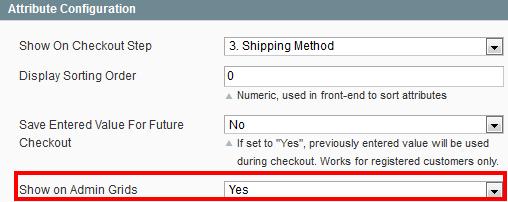 Magento Order Attributes - Amasty